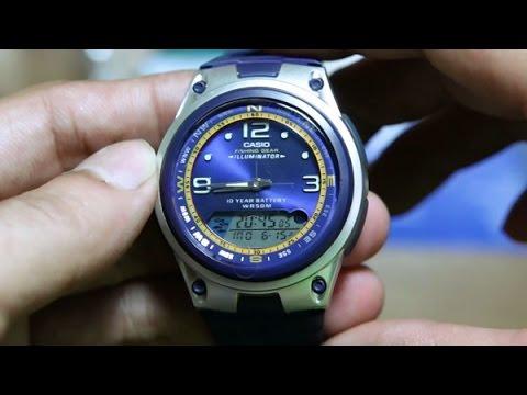 ea495901474 Relógio Casio Esportivo Masculino Pesca Original Garantia - R  179 ...