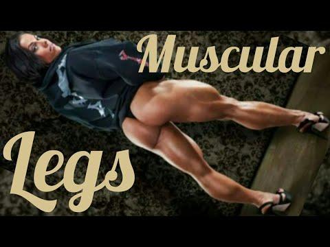 Muscular Legs | Fitness Motivation | Female Bodybuilding | Muscle Woman | FBB | IFBB Pro