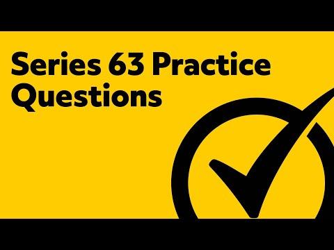 Series 63 Exam Practice Questions - YouTube