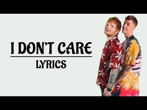 Ed Sheeran & Justin Bieber - I don't care [LYRICS] - Hey Lyrics!