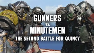 Gunners vs. Minutemen: The Second Battle for Quincy - Creation Club for Fallout 4