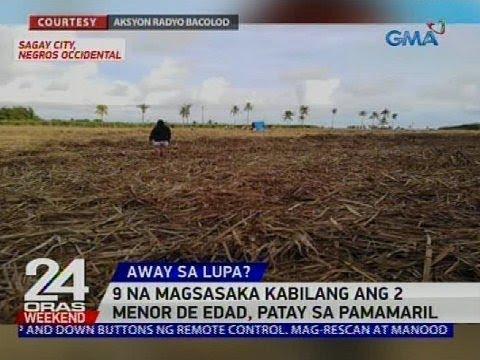 9 na magsasaka kabilang ang 2 menor de edad, patay sa pamamaril