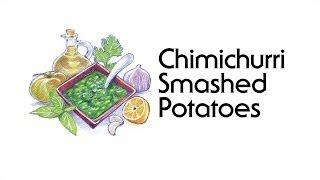 Chimichurri Smashed Potatoes