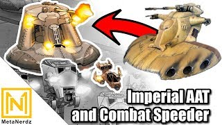 Did the Empire IMPROVE the AAT? | Imperial Assault Tank and Combat Speeder Explained | Star Wars