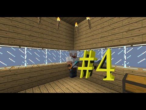Выживание Minecraft в мире Industrial Craft 2 , Buildcraft и тд #4