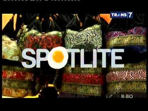 Video SPOTLITE Trans 7 - Wisata Belanja dan Kuliner Thailand