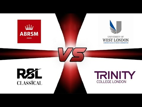 RSL (Rockschool) vs ABRSM vs Trinity vs LCM. A Classical Piano ...