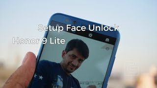 How to Setup Face Unlock on Honor 9 Lite