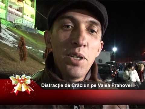 Distracție de Crăciun pe Valea Prahovei