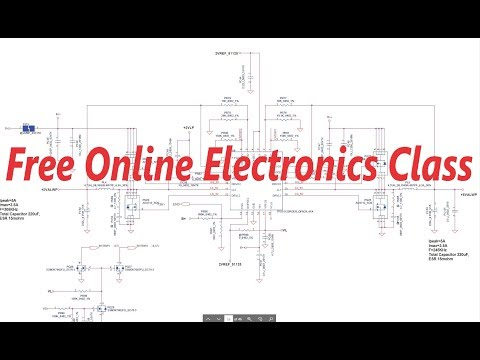 Free Online Electronics Class -Part3 - YouTube