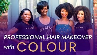 Professional Hair Makeover AT HOME with COLOUR!