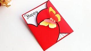 How to make new year card for Boyfriend or Girlfriend // Handmade New Year Card Idea...