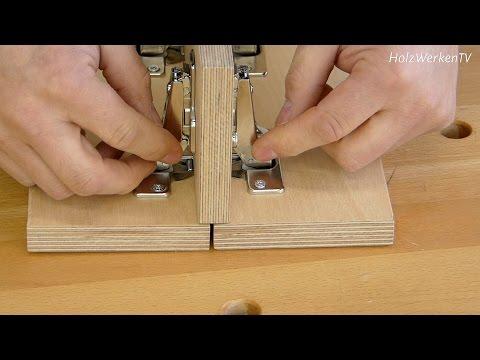 Möbelbau mit Topfbändern