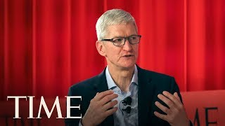Apple CEO Tim Cook Interview At The TIME 100 Summit | TIME