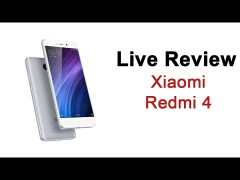 Xiaomi Redmi 4 Live Review