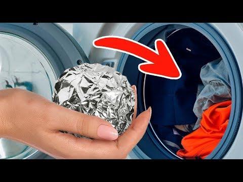 Pon Aluminio En La Secadora y Mira Lo Que Pasa
