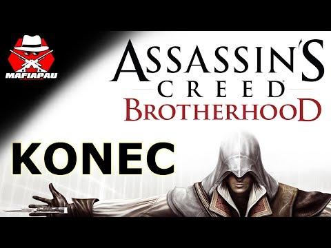 KONEC! + PRAVDA | Assassin's Creed Brotherhood | #12 | CZ Let's play | Mafiapau