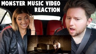 "Reacting to Gabbie Hanna ""Monster"" Music Video in Front of Her"