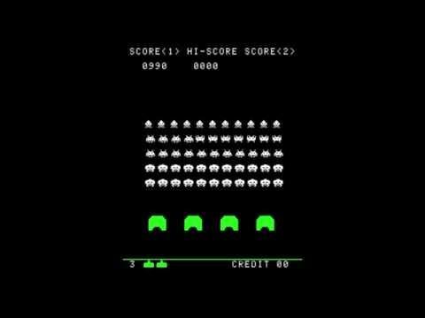 Space Invaders 1978 – Arcade Gameplay