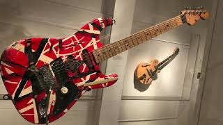 Edward Van Halen Guitar, Play It Loud The Met NYC