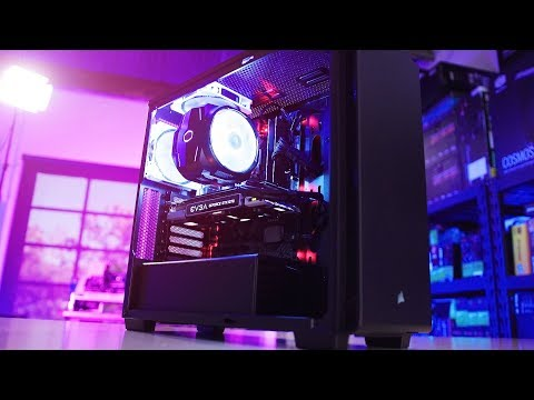 I built my Sister's family their first gaming PC!