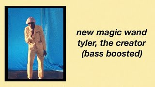 New Magic Wand By Tyler, The Creator (bass Boosted)