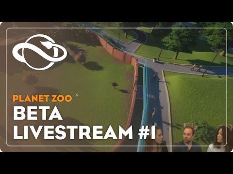 Planet Zoo   Wild about Wildlife Beta Stream - #1