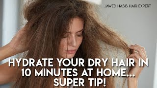 Quick Dry Hair Treatment At Home L Jawed Habib