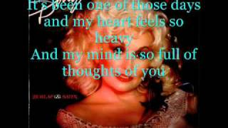 Dolly Parton - One Of Those Days