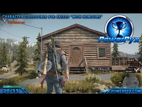 Days Gone - All Character Collectible Locations