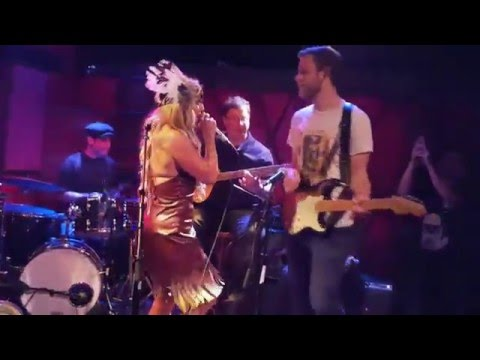 playing bass with Liah Alonso, rockwood New York City