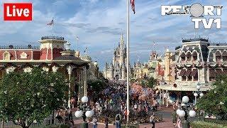 🔴Live: Magic Kingdom Christmas Decorations, Fireworks & More! 1080p - Walt Disney World - 11-2-19