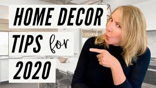 Home Decor Tips For 2020!   Interior Designer Lisa Holt