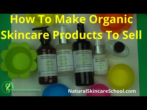 How To Make Safe Homemade  Skin Care Products To Sell - Guide To Becoming A Good Cosmetic Formulator