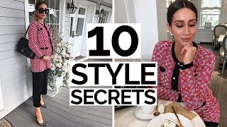 10 Style Secrets Only The Most STYLISH Women Know