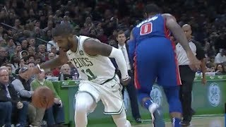 Kyrie Irving Crosses 2 Players! Griffin Late Turnover! 2018-19 NBA Season