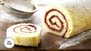 How Make The Classic Raspberry Jellyroll