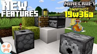 NEW FEATURES & EASIER MODDING!   19w36a Snapshot Features & Changes - Minecraft 1.15