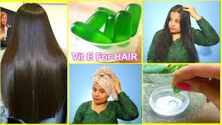 Vitamin E Hair Spa at Home - Get Shiny, Smooth, Long Hair Naturally | Priya Malik