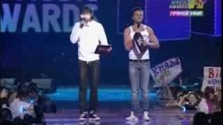 Mtv AwardS, Премия RUSSIA MTV MUSIC AWARDS 2008! NEW!!!Самый угарный момент церемонии от ведущих