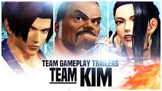 "KOF XIV - Team Gameplay Trailer #5 ""KIM"""