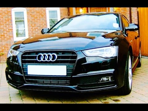 2014/2015 Audi A5 Coupe Quattro Tiptronic Startup, Exhaust and In depth Review