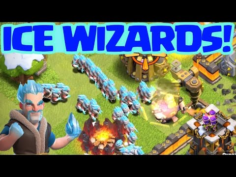 Video Clash of Clans Update: ICE WIZARD! ��_ CoC ��_