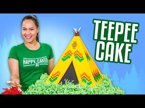 TeePee Cake & HUGE ANNOUNCEMENT!!    How To Cake It