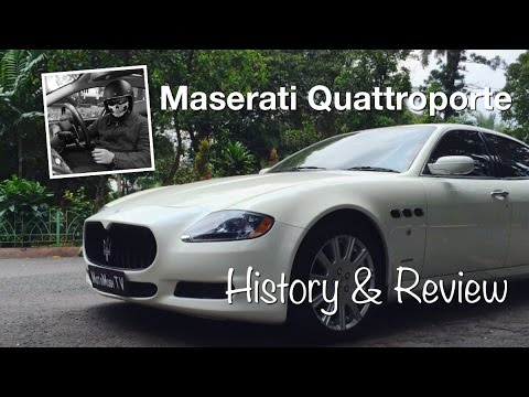 Maserati Quattroporte History and Review