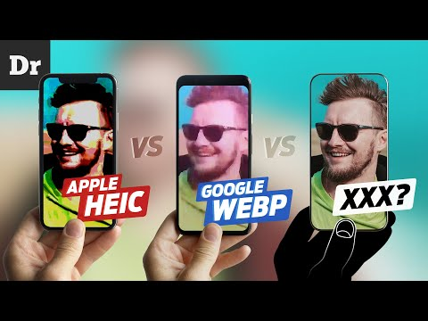ФОРМАТЫ Apple HEIC vs Google WebP vs ... | РАЗБОР