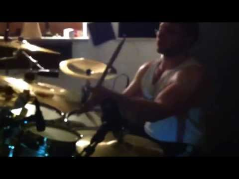 Echoes of the Fallen-Studio Drum Tracking