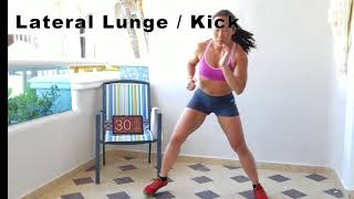 MMA STYLE HIIT 12 MIN WORKOUT is LIVE