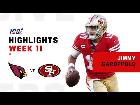 Jimmy G Had Himself a Day w/ 424 Passing YDs & 4 TDs   NFL 2019 Highlights