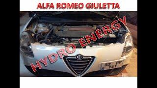 Alfa Romeo Giuletta hidrojen yakıt tasarruf sistem montajı